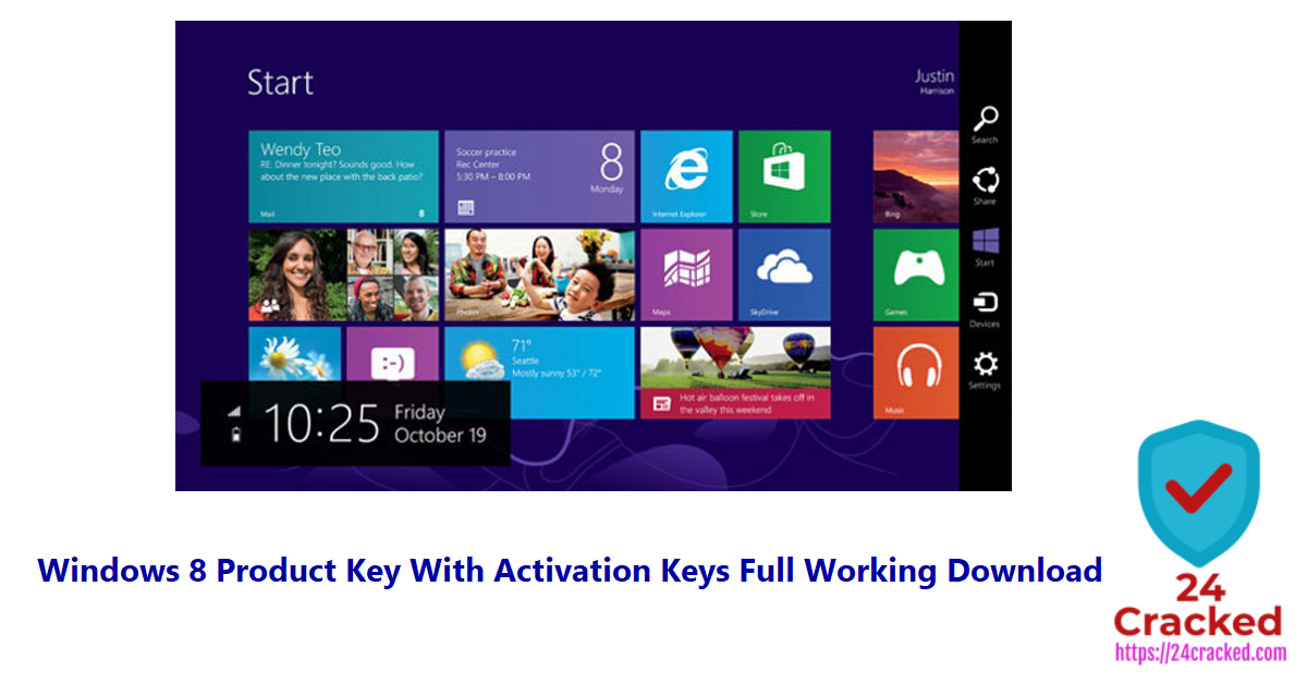 Windows 8 Product Key With Activation Keys Full Working Download