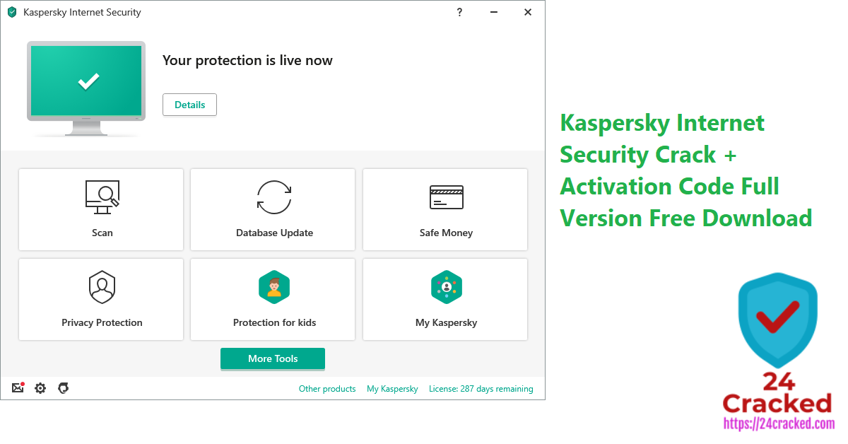 Kaspersky Internet Security Crack + Activation Code Full Version Free Download